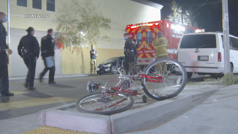 Man Riding Bicycle was Struck in Historic South-Central Hit-and-Run
