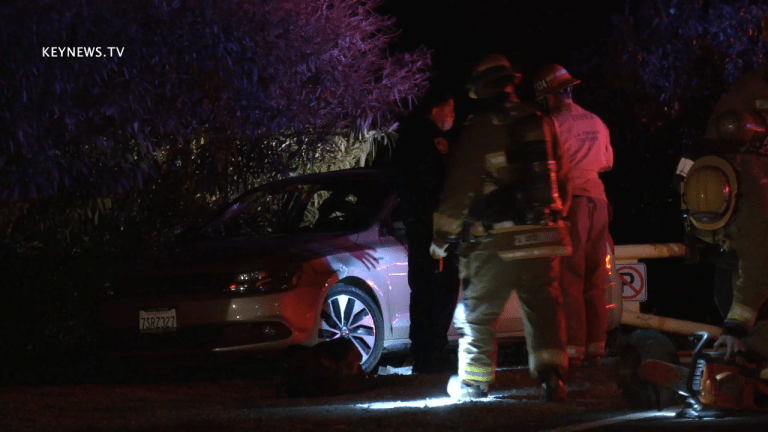 Deceased Person Found in Properly Parked Burning Vehicle
