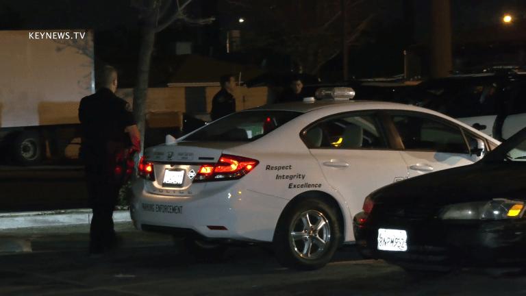 Suspect in Custody After Stolen Parking Enforcement Police Vehicle Pursuit