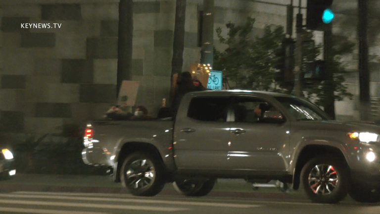 BLM Protest Convoy for Jacob Blake in DTLA