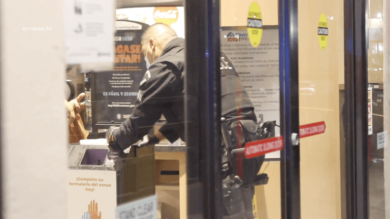 Security Guard Stabbed at Sylmar Vons