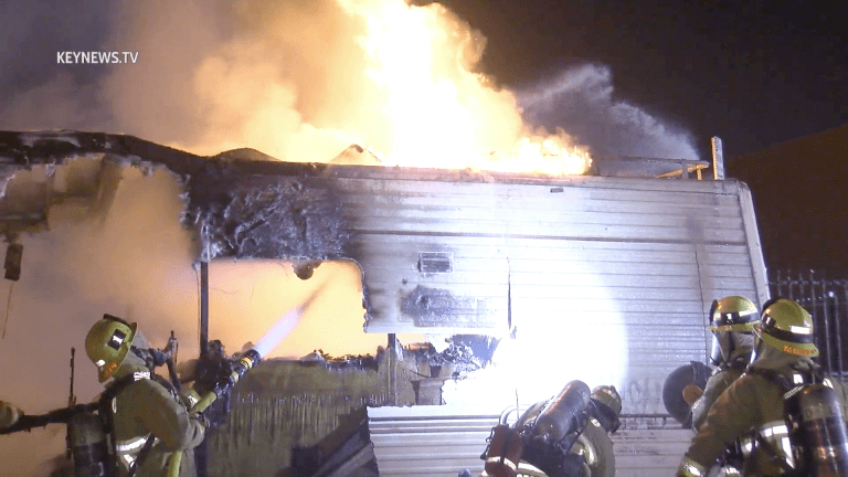 Lincoln Heights RV Fire