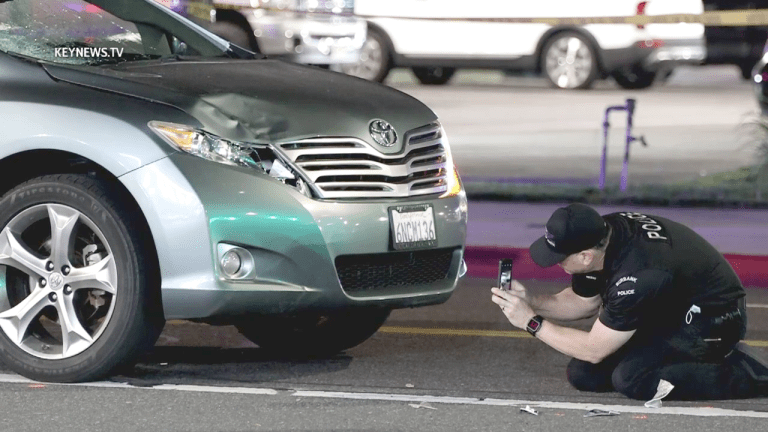 Burbank Fatal Auto vs Pedestrian (GRAPHIC)