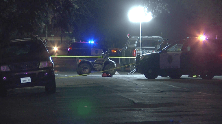 Fatal Quad Collision with Vehicle in Stockton