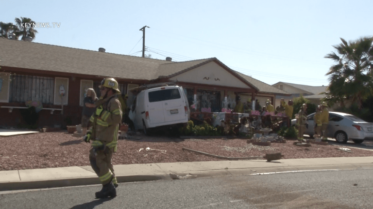 Vehicle Crash into Menifee Home Causes Significant Damage