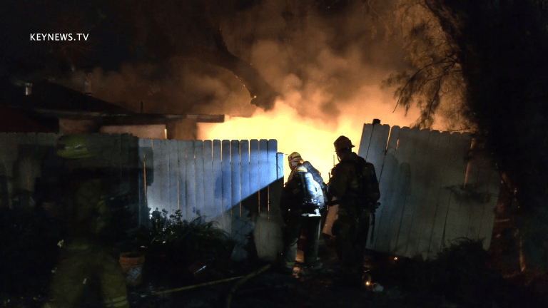 Suspicious House Fire on Property in Tujunga