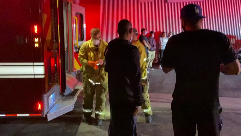 Motorcycle Rider Crashes into Taco Stand in Lincoln Heights