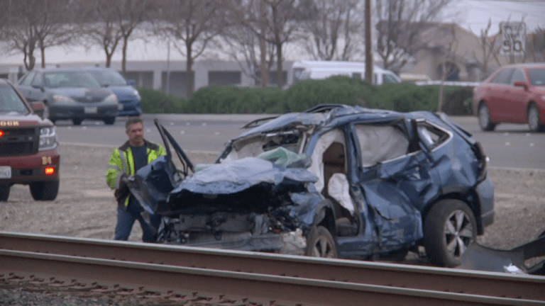 Senior Driver Dies in Vehicle vs Train Collision in Turlock