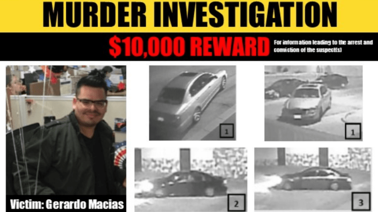 $10K Reward for Information Leading to Arrests in Macias Murder Case