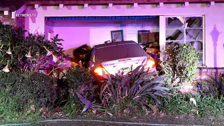 Driver Arrested for DUI After Crashing into Living Room of La Cañada Home