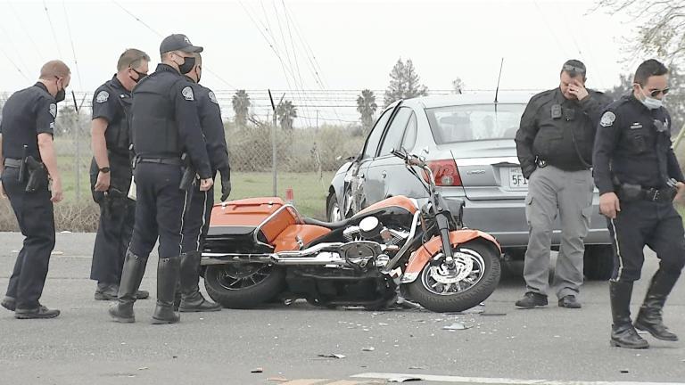 Fatal Motorcycle Crash in Modesto