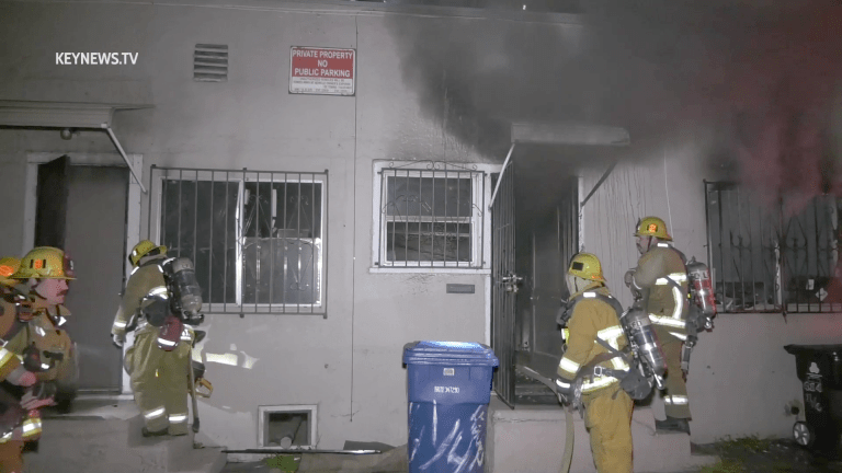 Bungalow Fire in Boyle Heights