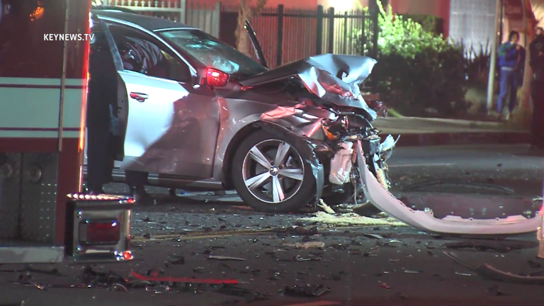 Shooting Suspect in Custody After Two-Vehicle Collision, Weapon Recovered