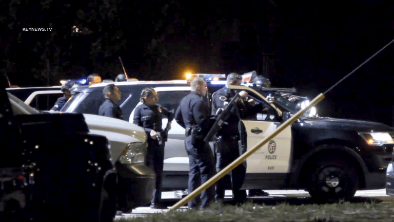 Handgun Recovered from Possible Shooting Suspect Vehicle in Sylmar