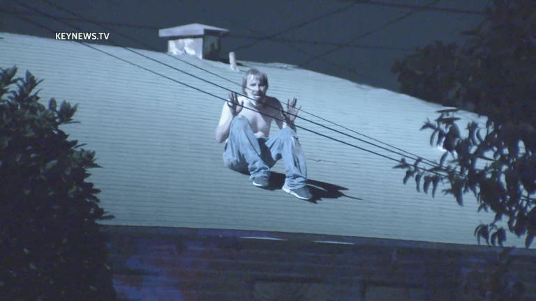 Historic South-Central Burglary Suspect Escapes to Rooftop