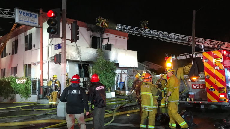 Space Heater Cause of Hotel Fire Injures Eight, One Man Dead in Mid City