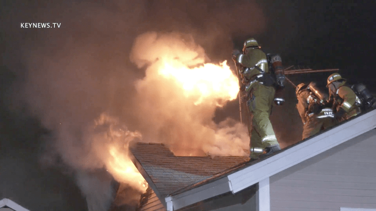 Sun Valley Single-Family Home Fire