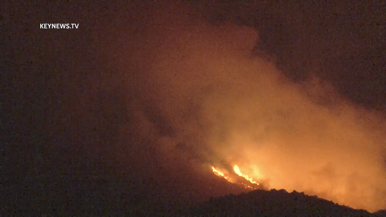 Southern Fire Burns in San Diego