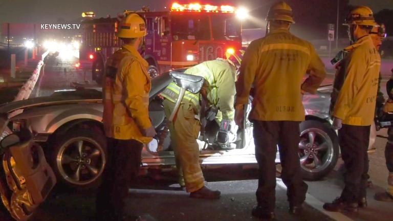 Hawthorne Deadly Crash on 405 North Freeway