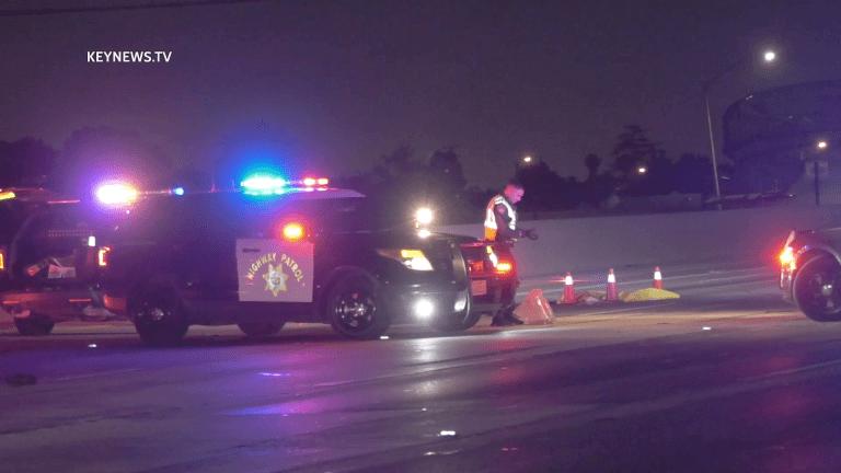 Bicyclist Fatally Struck on Pomona Freeway (GRAPHIC)