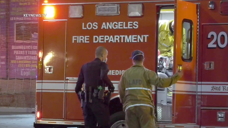 Female Victim Wounded in Downtown Los Angeles Shooting