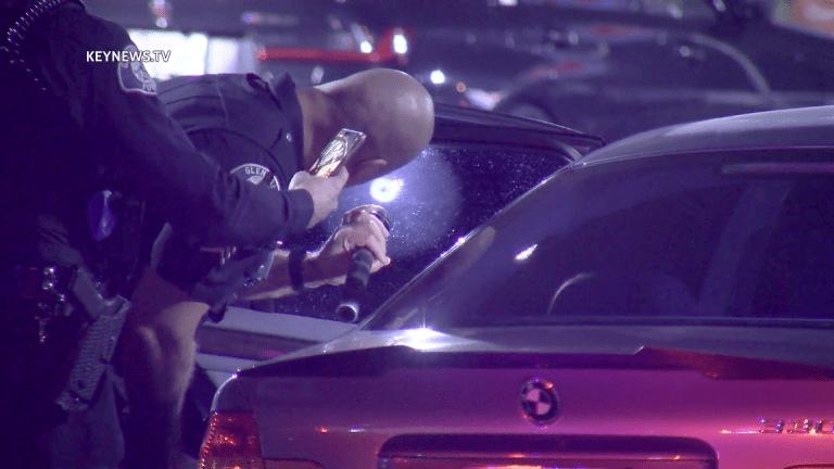 Vehicle Shooting in Glendale Ralphs Parking Lot