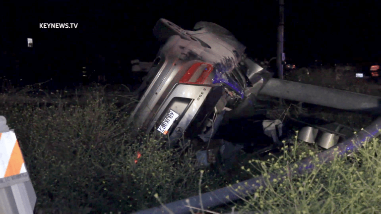 2 Suspects Suffer Major Injuries After Crashing into Pole During High-Speed Vehicle Pursuit