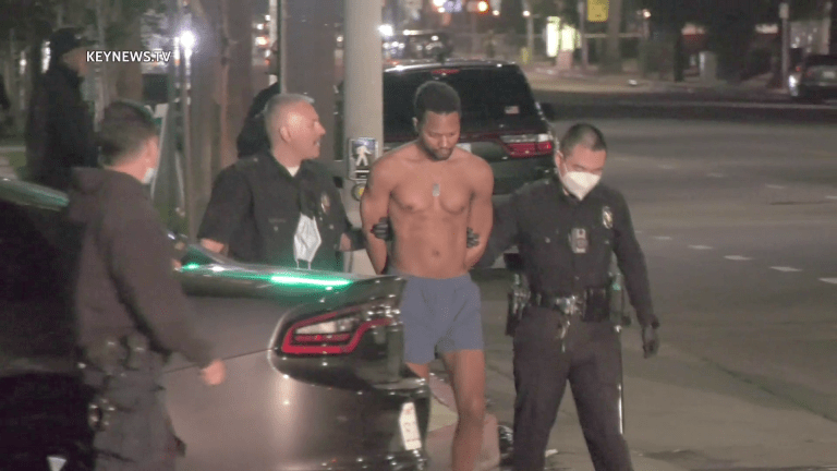 North Hollywood Barricaded Man in Custody, Transported to Hospital