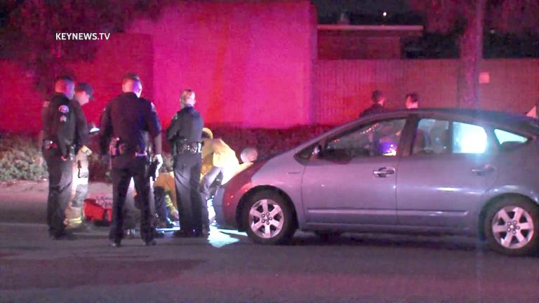 Pedestrian Struck by Vehicle in Pomona (GRAPHIC)