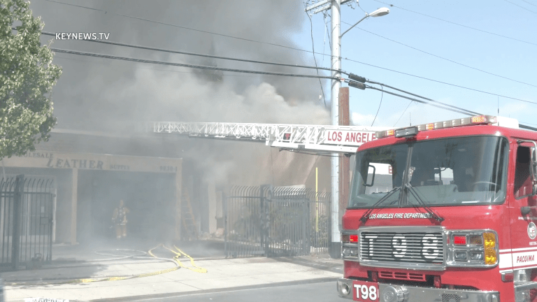 Pacoima Greater Alarm Structure Fire