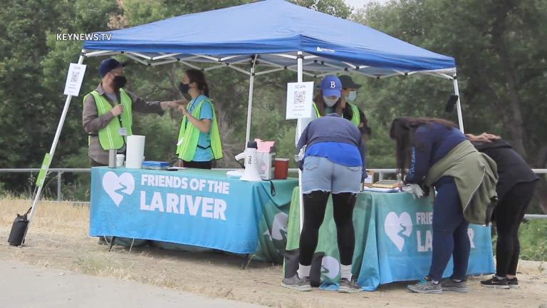 Los Angeles River Clean-Up at Sepulveda Basin