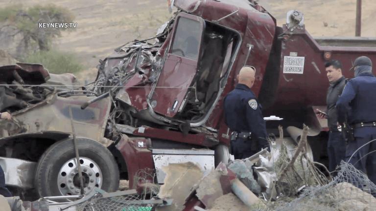 Castaic Fatal Gravel Truck Crash