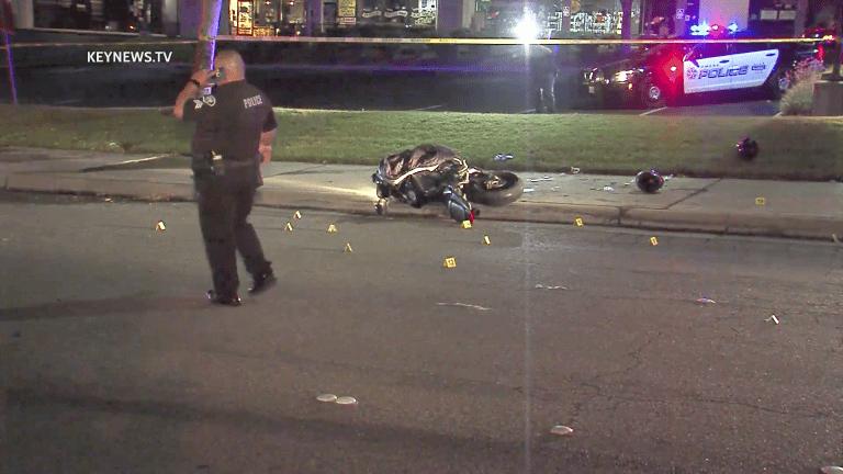 Motorcyclist Shot in Pomona