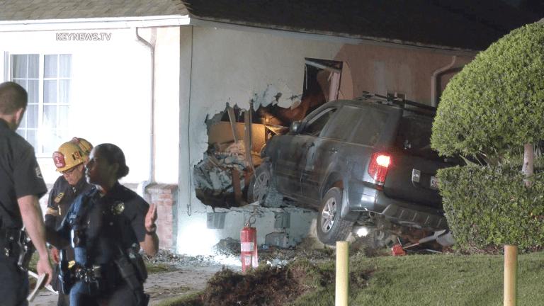 Senior Woman Killed by Pursued Vehicle Crashing Through Bedroom Wall