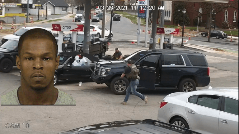 VIDEO SHOWS BLACK MAN SHOT AND KILLED BY U.S. MARSHALS WHILE PUMPING GAS