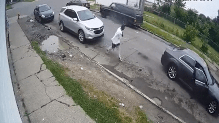 VIDEO: AK-47 GUN SHOT AT SUV WITH FATHER AND KIDS INSIDE