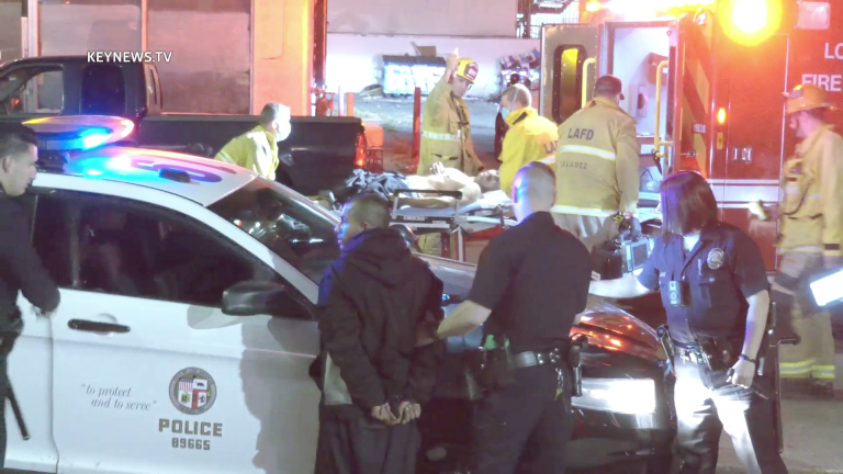 Shooting Leaves 1 Wounded Lying in a Panorama City Street (GRAPHIC)