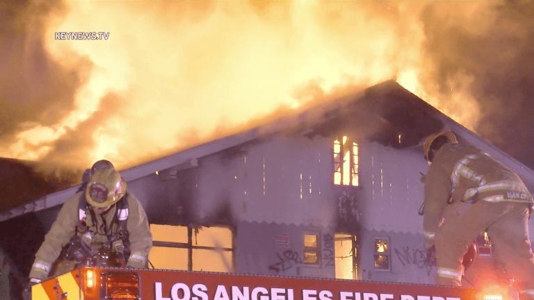 Firefighters Battle Second Fire at an Arlington Heights House