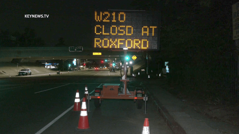 Full Closure of Westbound I-210 this Weekend