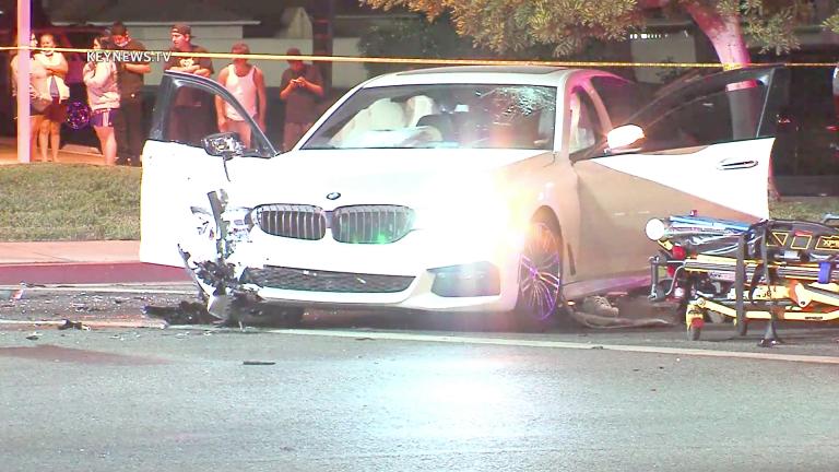 Pomona Deadly Car to Car Shooting Crash (GRAPHIC)