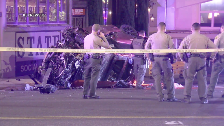 2 Seriously Injured in West Hollywood High-Speed Crash