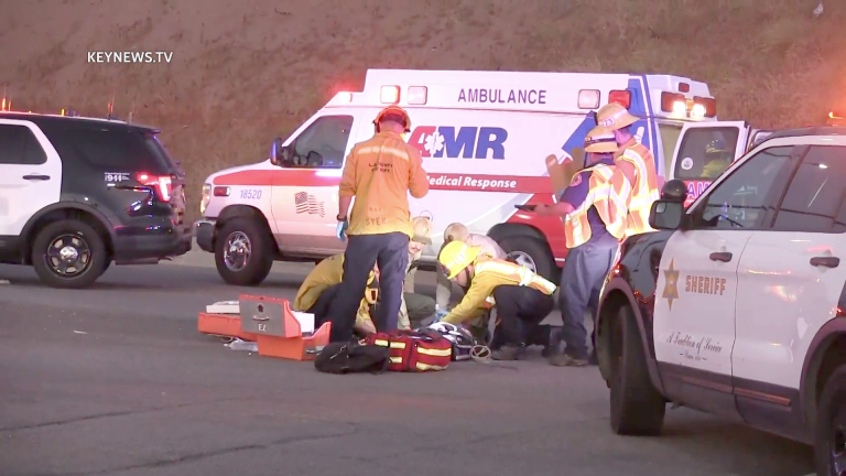 15-Year-Old Struck by Vehicle While Riding Scooter in Newhall