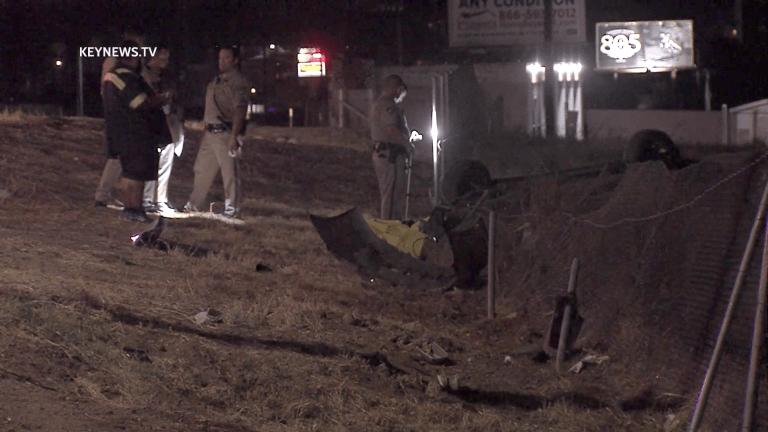Jurupa Valley Single-Vehicle Fatal Crash