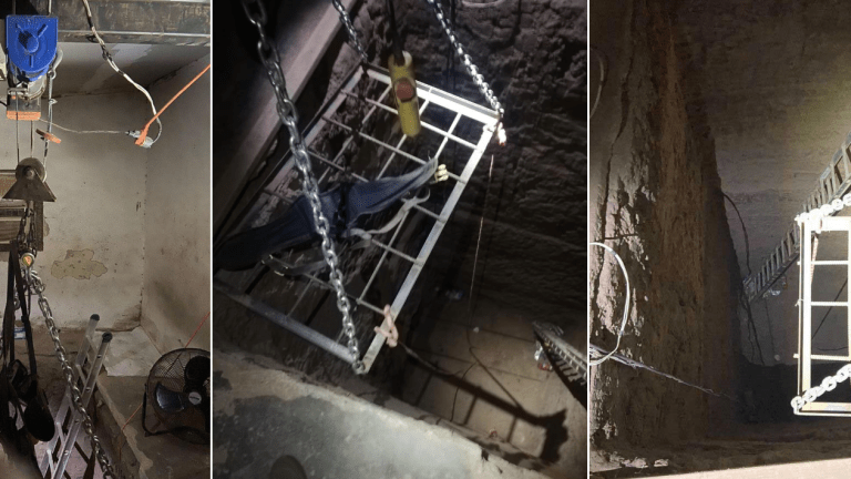 LATINO CARTEL DRUG TUNNEL FOUND, WAS SOPHISTICATED
