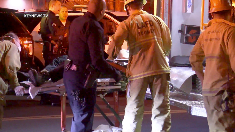 Delivery Driver Victim of Vehicle Theft, Stabbing in Koreatown