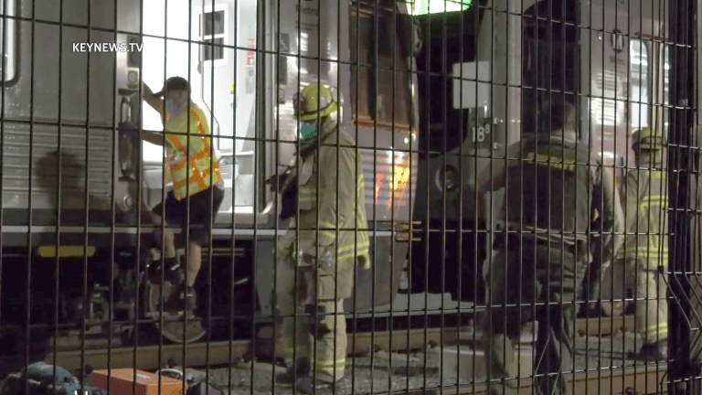 Metro Gold Line Train Struck and Killed Pedestrian in Monrovia