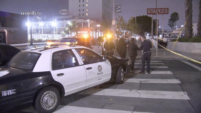 Downtown Los Angeles Road Rage Homicide