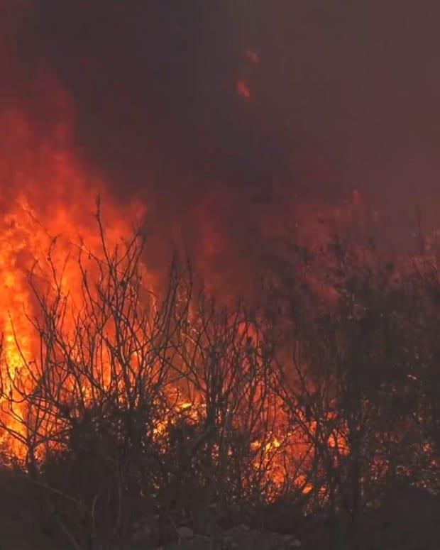 Irwindale Brush Fire