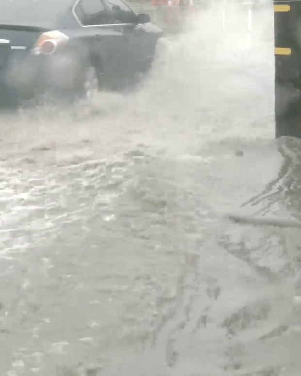 Flooded Sun Valley Streets