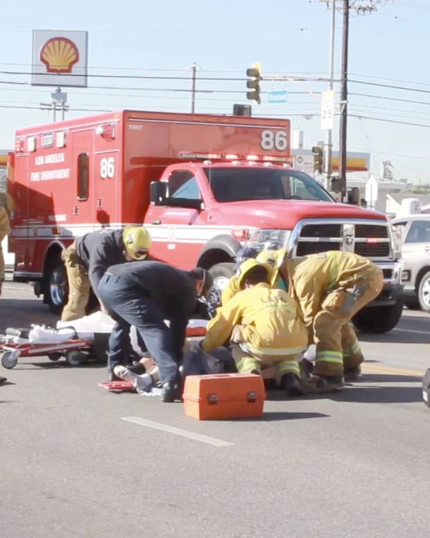 Pedestrian Struck by Vehicle in North Hollywood  Promo Image